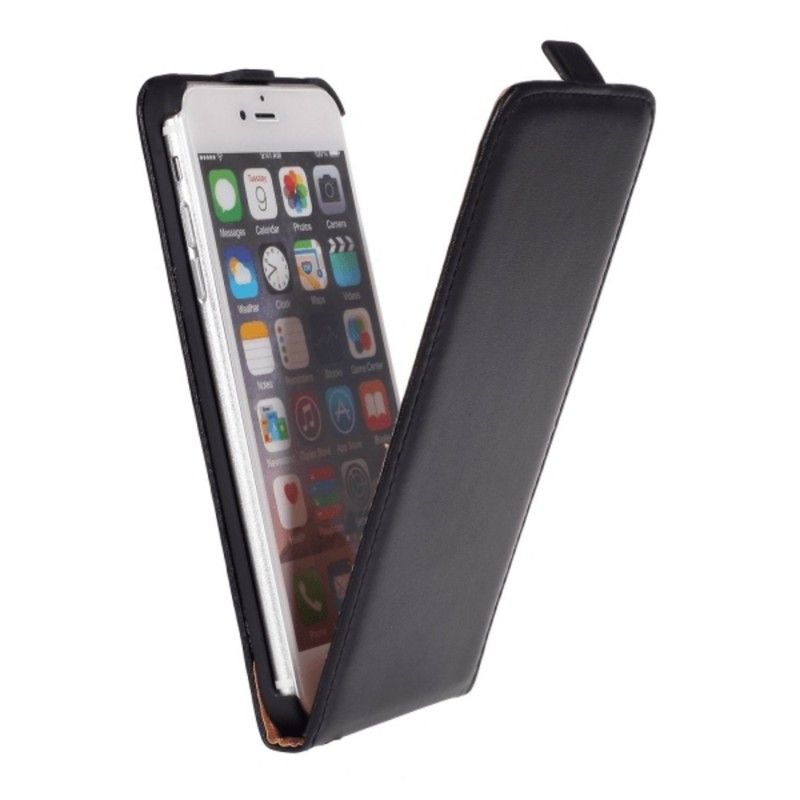 iPhone 6 / 6S PLUS - Lyxigt Flip Fodral / Skydd / Case Läder iPhone 6 / 6S Plus -