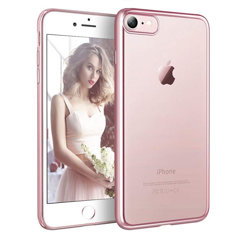 iPhone 6 / 6S - Exklusivt skydd / fodral iPhone 6 / 6S Rosa Metallic -