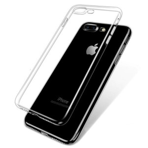 iPhone 8 PLUS - iPhone 7 & 8 PLUS transparent Ultra slimfit skydd / fodral  -