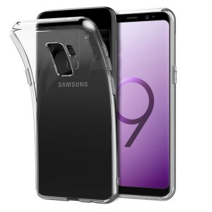 Samsung S9 PLUS - Samsung S9 PLUS transparent Ultra slimfit skydd / fodral / case -